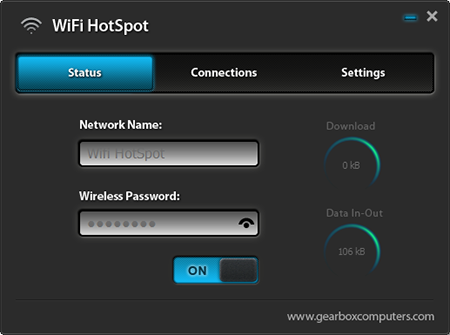 Wifi HotSpot Screenshot